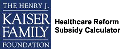 A healthcare reform subsidy calculator
